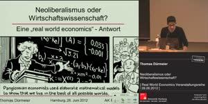 Miniaturansicht - Thomas Dürmeier: Neoliberalismus oder Wirtschaftswissenschaft?
