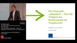 """Miniaturansicht - Brown Bag Lectures """"Berufsbilder"""" - Der Staat geht  """"einkaufen"""" - Vergaberecht"""