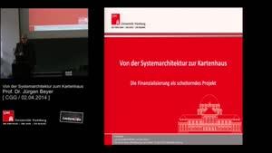 Miniaturansicht - Von der Systemarchitektur zum Kartenhaus - die Finanzialisierung der Gesellschaft als scheiterndes Projekt