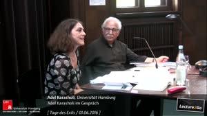 Miniaturansicht - Adel Karasholi im Gespräch mit Doerte Bischoff