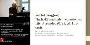Miniaturansicht - Verletzung(en) Flucht-Räume in den romanischen Literaturen des 20/21. Jahrhunderts