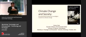Miniaturansicht - Climate Change and Society: An assessment of American sociological research on climate change