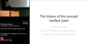 Miniaturansicht - The History of the Concept Welfare State