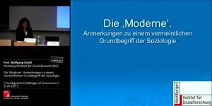 Miniaturansicht - Die 'Moderne'. Anmerkungen zu einem vermeintlichen Grundbegriff der Soziologie