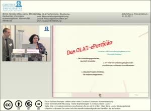 Thumbnail - Das OLAT-ePortfolio - Studiums- und Veranstaltungsbegleitung an der Universität Hamburg