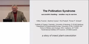 Miniaturansicht - The Pollination Syndrome: Successful cheating - another way to survive