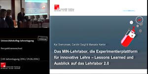 Miniaturansicht - Das Lehrlabor, die Experimentierplattform für innovative Lehre – Lessons Learned und Ausblick auf das Lehrlabor 2.0