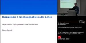 Miniaturansicht - Disziplinäre Forschungstile in der Lehre - Gegenstände, Kanonisierung und Pluralismus