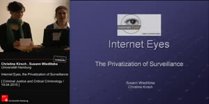 Miniaturansicht - Internet Eyes, the Privatization of Surveillance