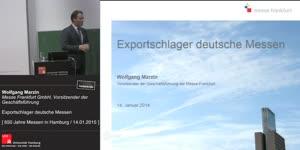 Miniaturansicht - Exportschlager deutsche Messen