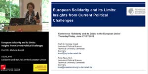 Miniaturansicht - European Solidarity and its Limits: Insights from Current Political Challenges