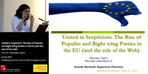 Miniaturansicht - United in Scepticism: The Rise of Populist and Right-Wing Parties in the EU (and the role of the web)