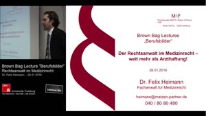 Vorschaubild - Brown Bag Lectures