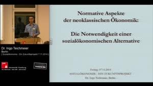 Thumbnail - Normative Aspekte der neoklassischen Ökonomik: Die Notwendigkeit einer sozialökonomischen Alternative