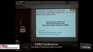 Vorschaubild - FMM Conference 2012: Welcoming and information on the network and its summer school