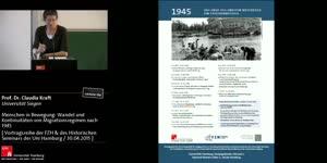Miniaturansicht - Claudia Kraft: Menschen in Bewegung: Wandel und Kontinuitäten von Migrationsregimen nach 1945