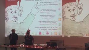 Thumbnail - Physik-Weihnachtsvorlesung 2012 - Auch Quanten haben's schwer