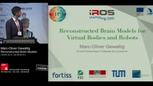 Thumbnail - Day 3 - Reconstructed Brain Models for Virtual Bodies and Robots (Keynote)
