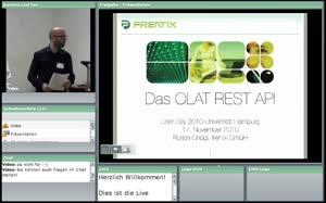 Thumbnail - Die neue OLAT REST Schnittstelle - Möglichkeiten und Beispiele