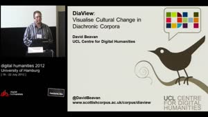 Miniaturansicht - SP 01 - DiaView: Visualise Cultural Change in Diachronic Corpora