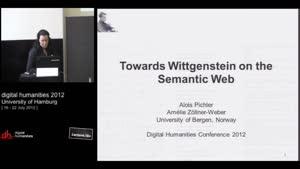 Miniaturansicht - SP 02 - Towards Wittgenstein on the Semantic Web