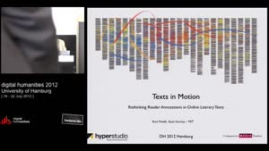 Miniaturansicht - SP 04 - Text in Motion - Rethinking Reader Annotations in Online Literary Texts
