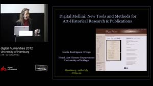 Miniaturansicht - The Digital Mellini Project: Exploring New Tools & Methods for Arthistorical Research and Publication