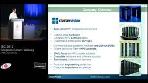 Miniaturansicht - Hot Seat Session, Part 2 - 8: ClusterVision - Christopher Huggins