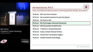 Miniaturansicht - Hot Seat Session, Part 2 -4: RSC - Alexander Moskovsky