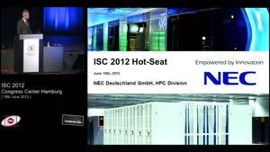 Miniaturansicht - Hot Seat Session, Part 2 - 5: NEC Deutschland - Rudolf Fischer