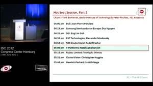 Miniaturansicht - Hot Seat Session, Part 2 - 6: T-Platforms - Natalia Zheleznykh