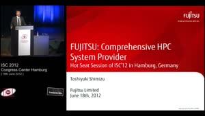 Miniaturansicht - Hot Seat Session, Part 2 - 7: Fujitsu Limited - Toshiyuki Shimizu
