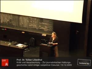 Vorschaubild - Kritik und Verantwortung - Zur journalistischen Haltungsgeschichte nebst einiger subjektiver Exkurse
