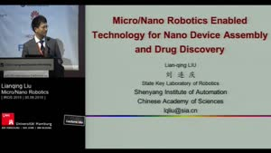 Thumbnail - Day 2 - Micro/Nano Robotics Enabled Technology for Nano Device Assembly and Drug Discovery (Keynote)