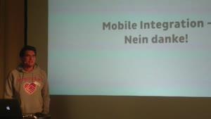 Miniaturansicht - Mobile Integration – nein danke.