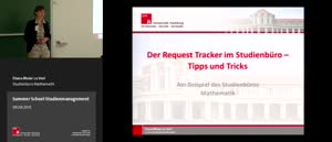 Miniaturansicht - 4 - Der Request Tracker im Studienbüro - Tipps und Tricks