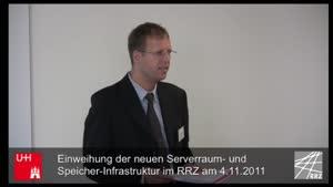 Thumbnail - Einweihung der neuen Serverraum - und Speicher-Infrastruktur im RRZ am 04.11.2011