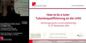 Miniaturansicht - Tutorienqualifizierung und Schreibberatungsausbildung