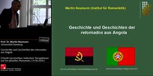 Miniaturansicht - Prof. Dr. Martin Neumann: Geschichte und Geschichten der retornados aus Angola