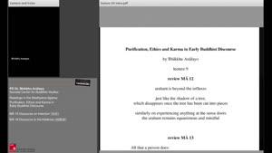 Miniaturansicht - MĀ 15 Discourse on Intention (思經); MĀ 16 Discourse to the Kālāmas (伽藍經)