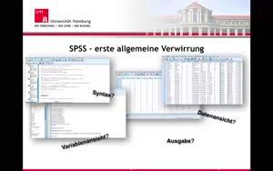 Miniaturansicht - 2. SPSS und Dateneingabe