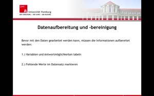 Miniaturansicht - 3. Datenaufbereitung und -bereinigung