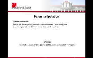 Miniaturansicht - 4. Datenmanipulation