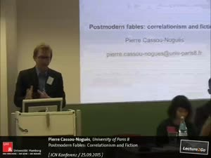 Miniaturansicht - Postmodern Fables: Correlationism and Fiction