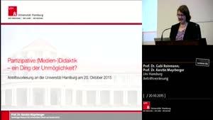 Thumbnail - Antrittsvorlesungen der Professorinnen Reinmann und Mayrberger