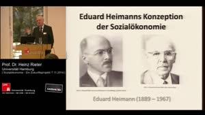 Miniaturansicht - Eduard Heimanns Konzeption der Sozialökonomie