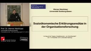 Miniaturansicht - Sozioökonomische Erklärungsansätze in der Organisationsforschung