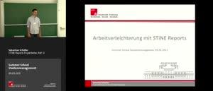 Miniaturansicht - 3 - Arbeitserleichterung mit STiNE Reports