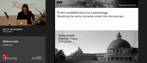 Miniaturansicht - Körber Lecture 2015 - From multiferroics to cosmology
