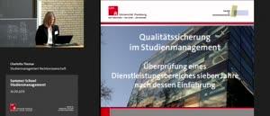 Miniaturansicht - 8 - Qualitätssicherung im Studienmanagement der Jura-Fakultät - Überprüfung eines Dienstleistungsbereiches sieben Jahre nach dessen Einführung